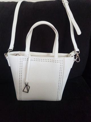 NEW! Obermain white sling bag