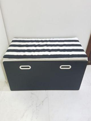 Stuva Fritids bench with toy storage