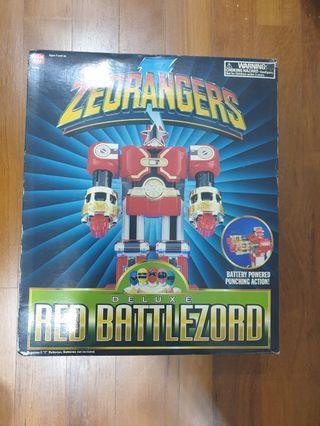 Zeo Red Ranger Megazord