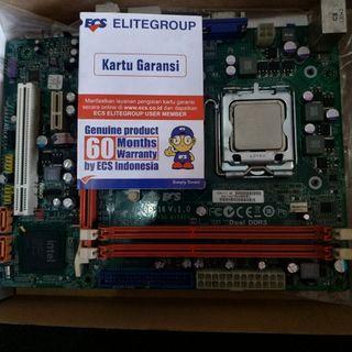 Motherboard ecs g41t-m16 processor core 2 duo 6400