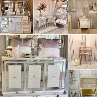 HARI RAYA SALE | A Collection Of Mirrored Furniture