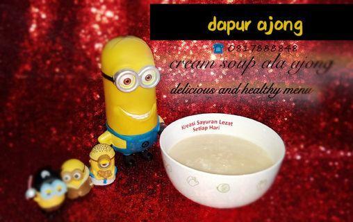 Cream soup yummy