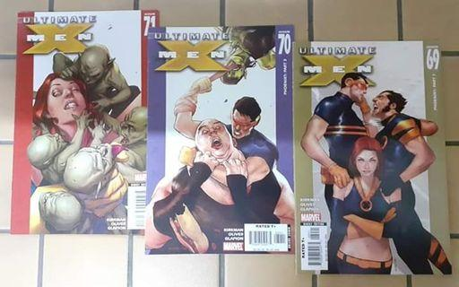 Ultimate Xmen - Issue 69,70,71,72 ( Marvel Comics )