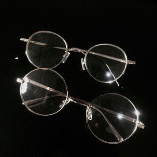 銀色鏡框眼鏡合賣