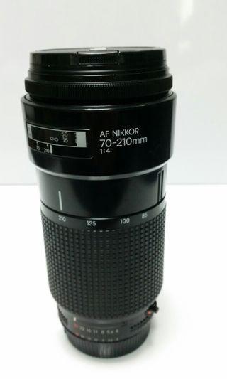 Nikon Af 70-210mm f4...Gd working