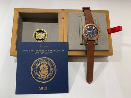 Brand New Carl brashear chronograph limited edition