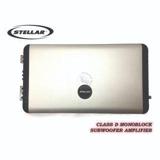STELLAR (SD-SLICK 1000) CLASS D MONOBLOCK SUBWOOFER AMPLIFIER
