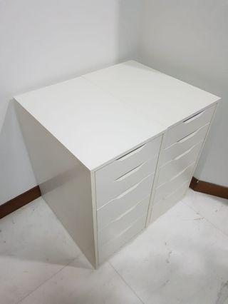 Ikea Alex drawers 2 units available