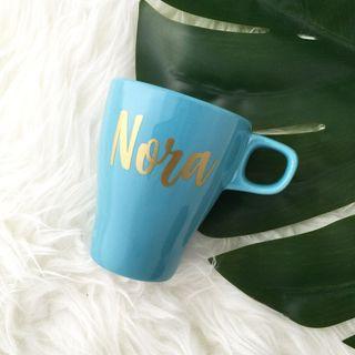 Personalised Mug cup name on Mug coffee Mug personalised gift wedding bridesmaid groomsmen gift farewell gift birthday gift Father's Day gift