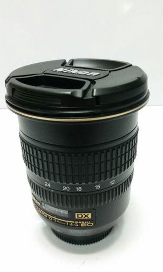🚚 Nikon AF-S 12-24mm f4 DX..