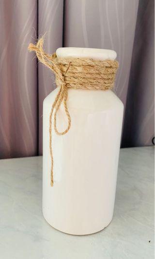 Brand New White flower vase