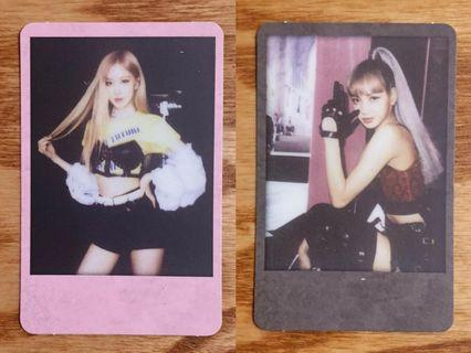 [WTS] BLACKPINK LISA ROSÉ KTL PHOTOCARD