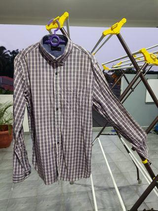 SEED long sleeve shirt kemeja