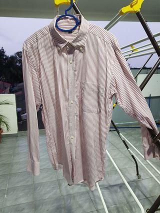 Uniqlo long sleeve shirt kemeja