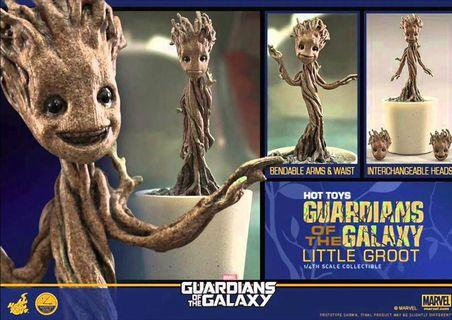 Guardians Of The Galaxy Hot Toys Little Groot 1/4 Scale Figure