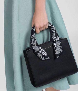 Charles and Keith Scarf Detail