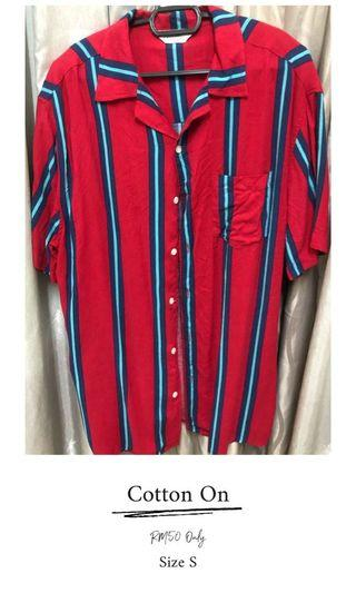 Cotton On stripe shirt