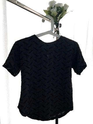 Black Leaves Top