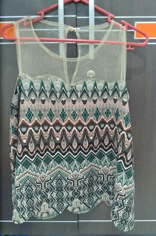 Crop Top Batik