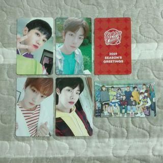 Golden Child Season's Greetings Photocard
