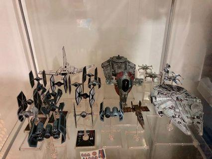 X-Wing Miniatures Game models