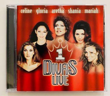 DIVAS LIVE CD (Mariah Carey/Celine Dion/Carole King...)