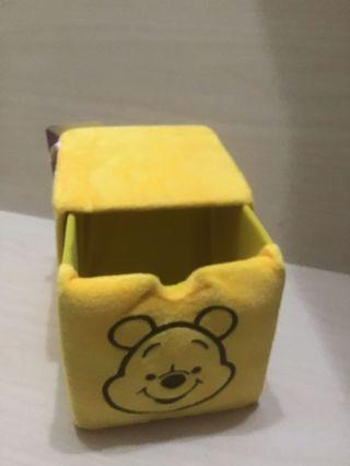正版 維尼 置物盒