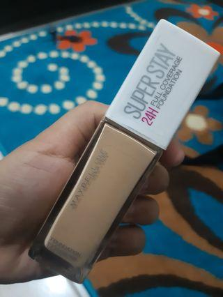 Maybelline SUPER STAY FOUNDATION 24H Shade 120 Classic Ivory