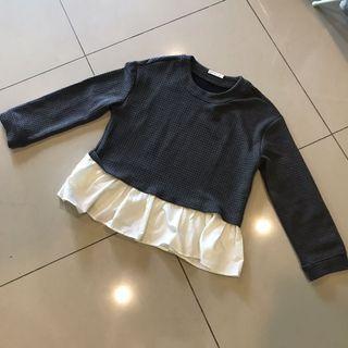 PADINI Grey blouse top (big sale)