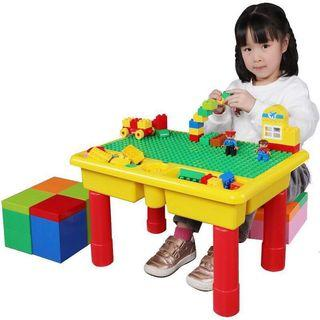 🚚 Activity blocks table  with 68 pcs big blocks [279]