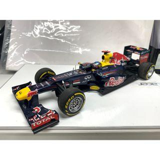 as is 1/18 2012 Red Bull Renault RB8 模型車