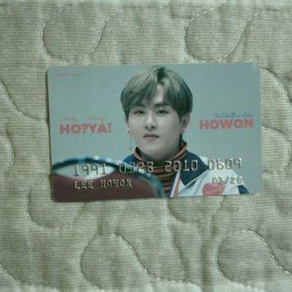 Hoya Fansite PVC Bank Card