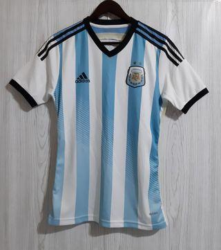 (日規球員版)Adidas Adizero2014阿根廷世界盃主場球衣O