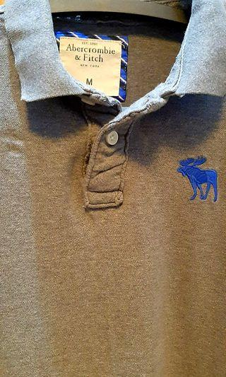 Authentic Abercrombie & Fitch Muscle Polo Shirt