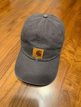二手 CARHARTT 老帽 皮標 Logo CAP 棒球帽 可調式