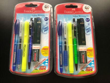 FABER-CASTELL value Writing Set