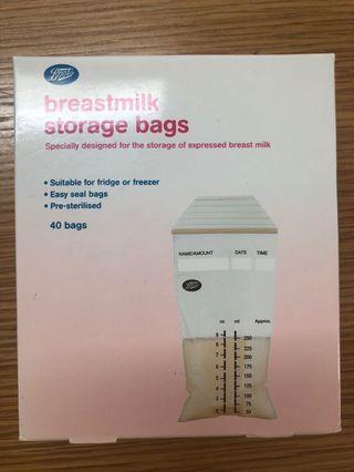 🚚 Boots Breastmilk Storage Bags