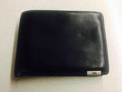 Men's black JAG wallet