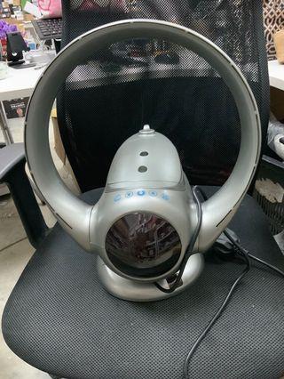 (E1990) EODO Bladeless Fan Air Multiplier Fan Desk Fan Tower Fan for air humidifier and air Purifier (Sliver)