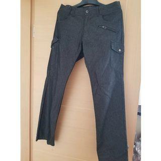 男裝直條褲 long pants with strip bought from  japan