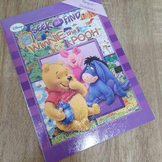 Buku seek and find pooh bilingual