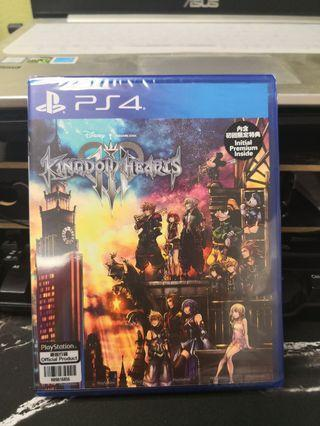 全新 PS4 Kingdom Hearts 3 王國之心 3中文版