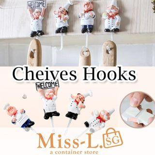 🏅🏅RESIN CHEIVES WALL HOOKS
