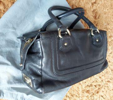 Genuine Oroton black leather bag