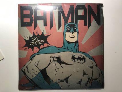 Collection series Batman calendar 2017