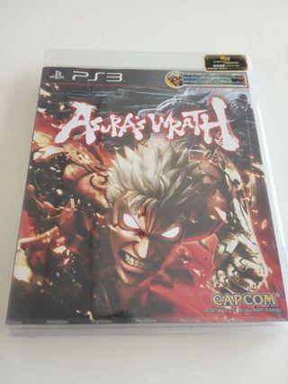 Asura's wrath 未拆原裝PS3 遊戲
