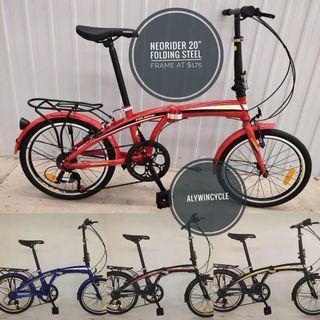 Foldable Bicycle 20""