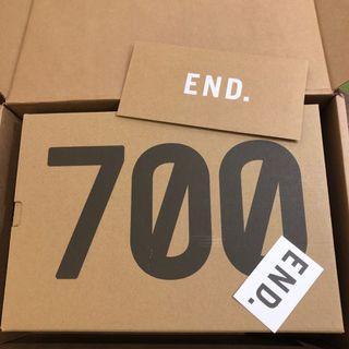 Adidas Yeezy Boost 700全新 END發貨