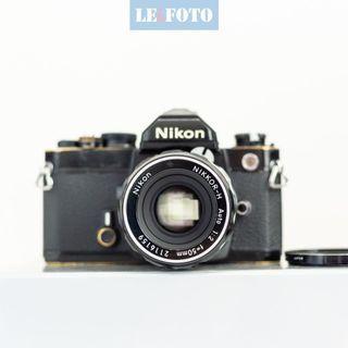 🚚 Nikon FM + 50mm F2
