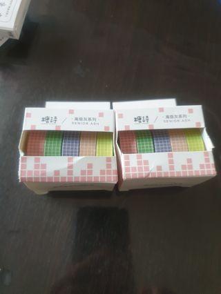 🚚 Washi Tape Set of 5